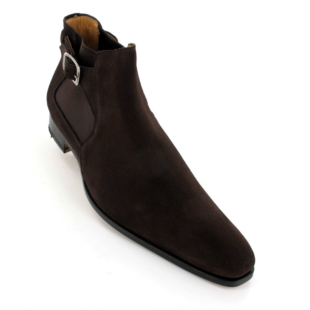 Chaussures boots homme luxe sacha - Laver chaussure en daim ...